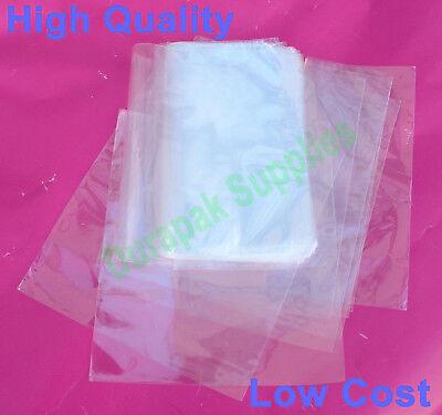 500 Pcs 9x14 Polyolefin Heat Shrink Film Wrap Flat Bags W Vent Hole Food Safe