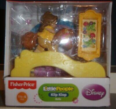 Fisher Price Little People Klip Klop Belle Horse New Disney Princess FREE SHIP