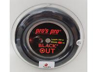 200m Pros Pro RED DEVIL 1,24mm 0,12€//lfd. m Tennissaite mit Touch AKTION