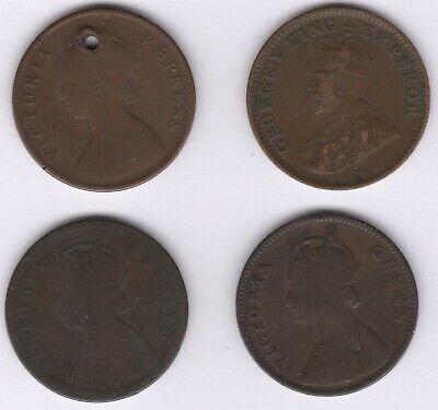 Mix Of British India One Quarter Anna Coins | World Coins | Pennies2Pounds segunda mano  Embacar hacia Spain