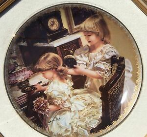Collectors Plate: Moments of Friendship