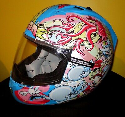 ICON ALLIANCE ENCHANTED MOTORCYCLE FULL FACE HELMET MEDIUM SUZUKI/HONDA/KAWA