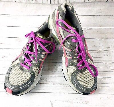 ASICS Gel-Trail Sensor 3 Running Shoes Womens Size 9.5 Lightning Raspberry (Gel Trail Sensor)