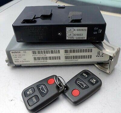 1998Volvo S70 C70 V70 keyless remote entry FOB transmitter Alarm Control -