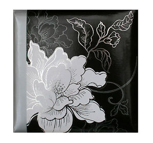 Large-Photo-Album-Holds-200-Photos-Black-And-White