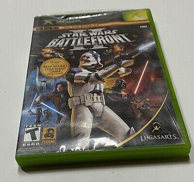 Star Wars: Battlefront II (Microsoft Xbox, 2005) Tested Complete CIB 2