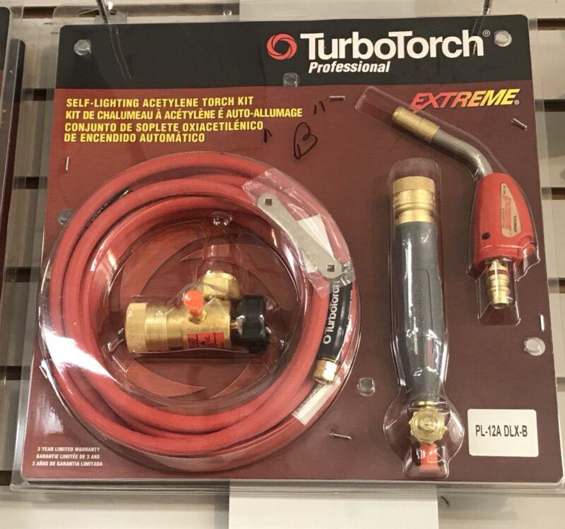 TurboTorch PL-12ADLX-B 0386-0836 Air Acetylene Self Lighting Kit ESAB