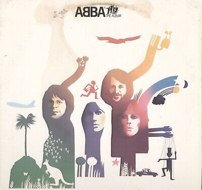 Abba The Album Vinyl LP Record Album