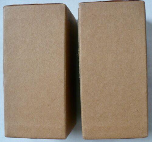 "2 Paper Mache 4 1/4""  X 2""  X  2 1/4"" DIY Craft Decorate Box Rectangular"