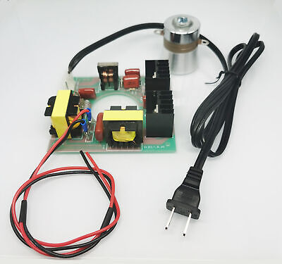 Us Stock 110vac 60w 40khz Ultrasonic Cleaning Transducer Cleaner Driver Board