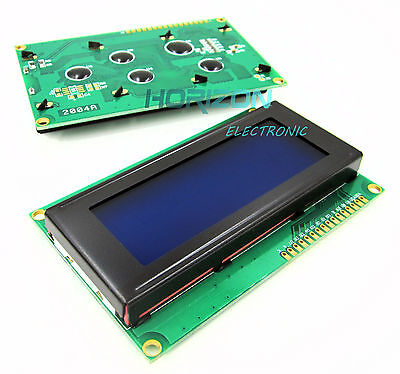 5pcs 2004 204 20x4 Character Lcd Display Module 2004 Lcd Blue Blacklight Best