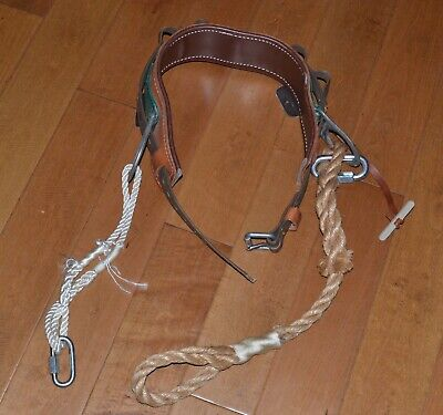 Buckingham Linemans Safety Climbers Tree Climbing Belt Size 36 2951 Excellent