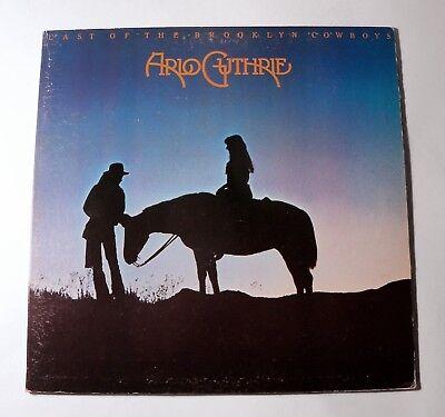Arlo Guthrie, Last of the Brooklyn Cowboys, Original Vinyl LP,