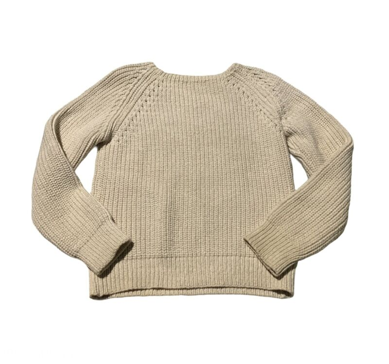San Migual Chunky Vintage Cottage Cottagecore Crewneck Sweater Pullover Womens S