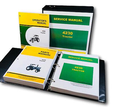 Technical Service Parts Operators Manual For John Deere 4230 Tractor Shop Repair