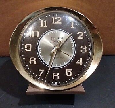 (Vintage Westclox Big Ben Repeater Wind Up Alarm Clock)