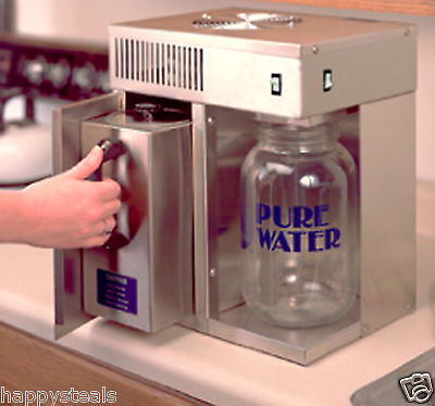 Water Distiller (Best Drinking Water Available) Free Glass Jug and Free