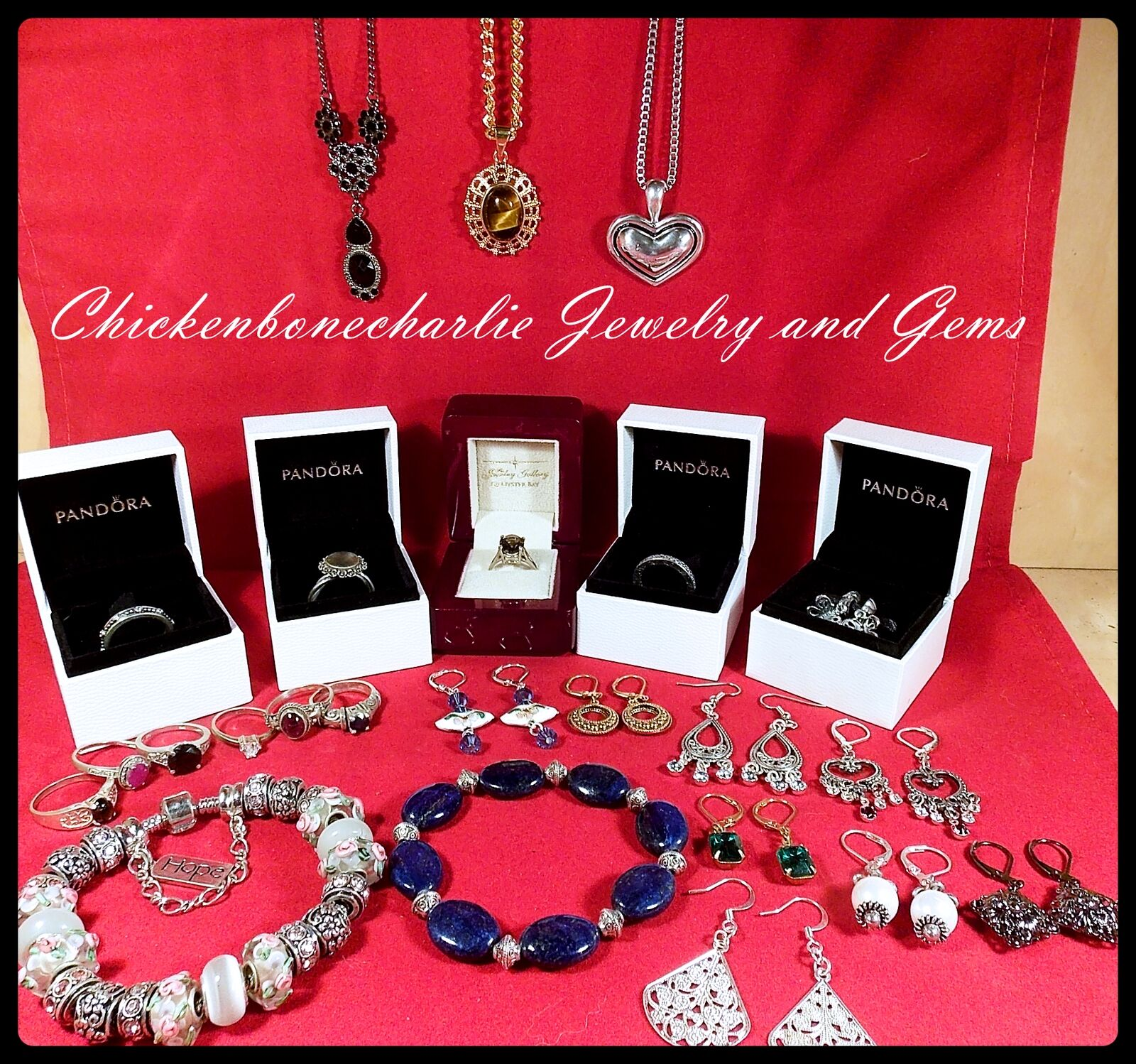 Chickenbonecharlie Jewelry and Gems