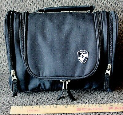 Heys Luggage Beauty Case BLACK Unisex Small travel Cosmetic Utility bag NWOT
