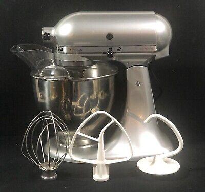 KitchenAid Artisan KSM150PSMC Stainless Steel Silver Household Mixer Made in USA