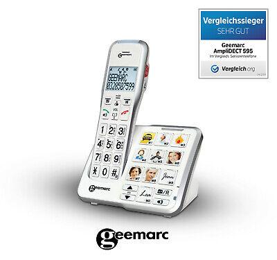 Amplidect 595 Photo schnurloses Digitaltelefon mit Fototasten
