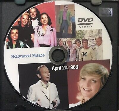 Hollywood Palace Apr. 20, 1968 COLOR DVD No Time Code Every Mother's Son Bing Cr