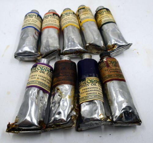 Talens & Son - Oil Paint Lot - Antique - (Cobalt Violet!)