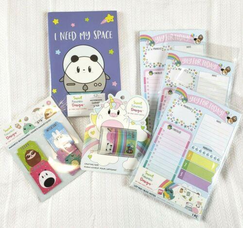 Sweet Kawaii Design ~ Planner Stationary Washi Lot ~ Craft Smith Set ~ 6 PCs