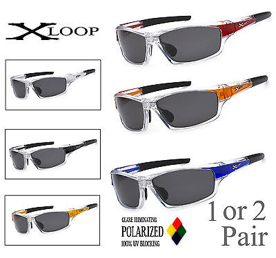 Polarized X-Loop Sport Fishing Surf Sunglasses Cool Cheap Discount Water - Inexpensive Sunglasses