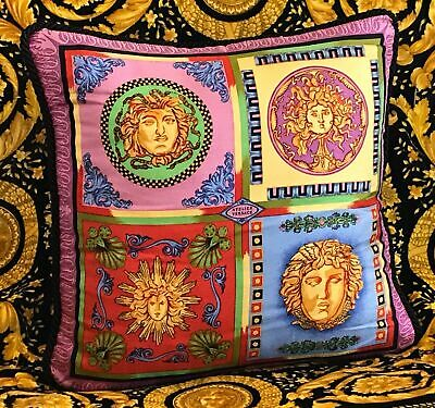 ORIGINAL GIANNI VERSACE QUATTRO MEDUSA PILLOW