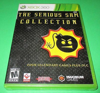 Serious Sam Collection Microsoft Xbox 360  Factory Sealed   Free Shipping
