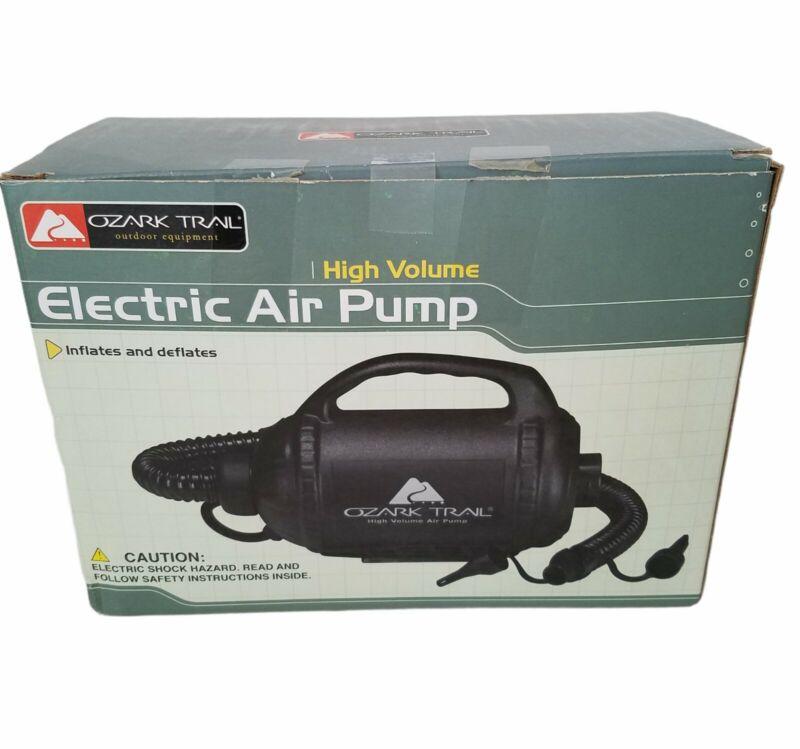Ozark Trail Electric Air Pump High Volume  66627 W (E)