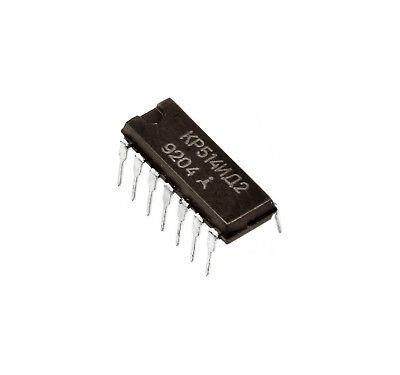 16 Pcs Msd101 K514id2 7 Segment Led Vfd Display Controller Ic Ussr