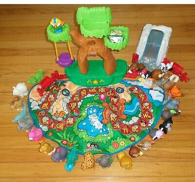Fisher Price Little People Alphabet Zoo Mat 26 Animals Zoo