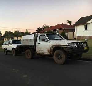 Nissan patrol gu 4x4 ute Bonnyrigg Heights Fairfield Area Preview