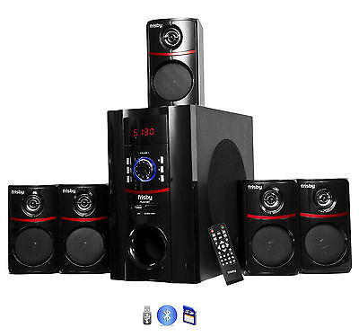 (Frisby FS5010BT 800Watt Bluetooth 5.1 Surround Sound Home Theater Speaker System)