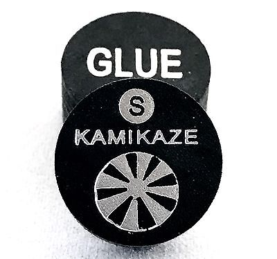 Kamikaze Black Layered Cue Tips  14 MM  (Soft) (1 Tip)  Fast Shipping.....