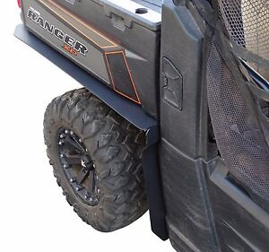 Polaris Ranger Rear Fender Flares mud flaps by MudBusters