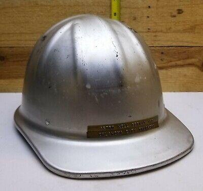 Vintage Mcdonald T Aluminum Hard Hat Mine Safety Appliances Co.