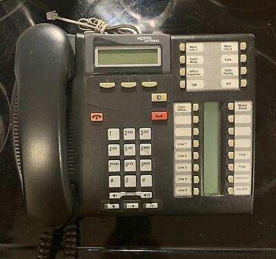 Nortel T7316e Phone Norstar Nt8b27 B Grade Charcoal Tested Warranty