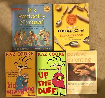 Books it's perfectly normal, positive parenting, kid-wrangling