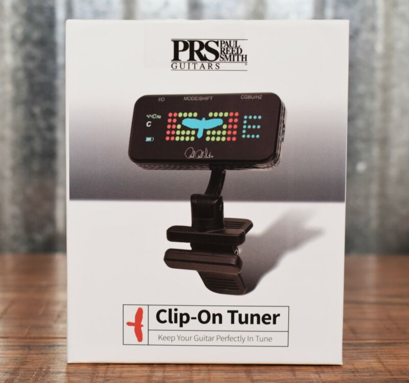 PRS Paul Reed Smith Clip On Headstock Guitar Bass Ukulele Chromatic Tuner