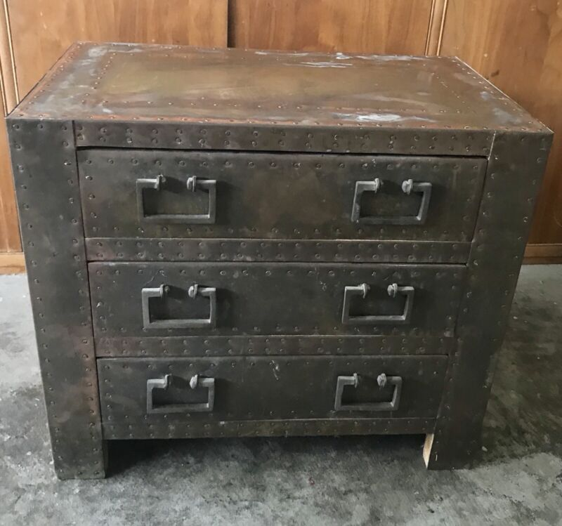 Brass Vintage  Chest Dresser