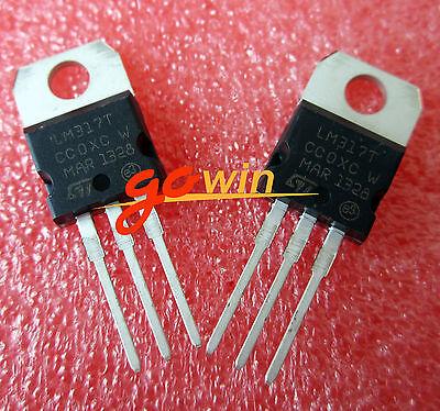 30PCS LM317T LM317 Voltage Regulator IC 1.2V to 37V  1.5