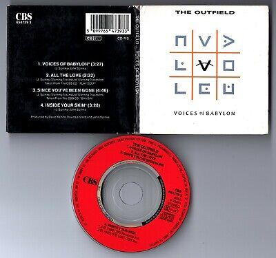 The Outfield CD-SINGLE VOICES OF BABYLON © 1989 ( 3-Inch) EU-4-track-CD gebraucht kaufen  Tecklenburg