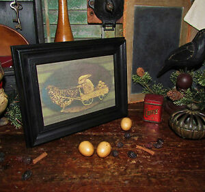 Primitive spring easter rooster chicken rabbit bunny egg for Rabbit decorations home