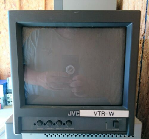 "JVC TM-A9UCV 9"" Color Security Monitor"