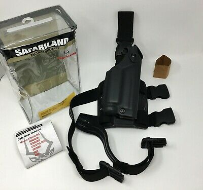Safariland 6005 SLS Tactical RH Leg Holster w/ QD Strap, SIG P226 P220 + LIGHT  6005 Sls Tactical Holster