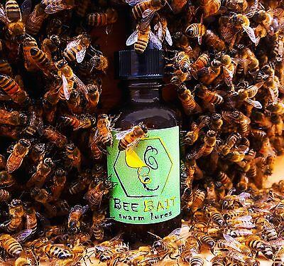 3 Honey bee swarm lure attract free bees beekeeper secret pheromone scent bait