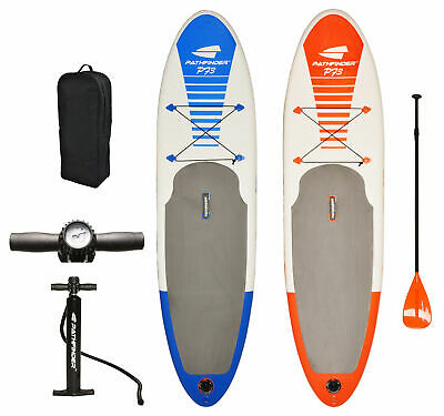 PathFinder Inflatable SUP Stand Up Paddle Board Paddle Pump Carry Bag